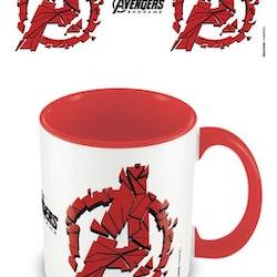 Avengers mugg - Logo