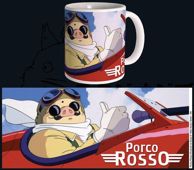 Studio Ghibli mugg - Porco Rosso