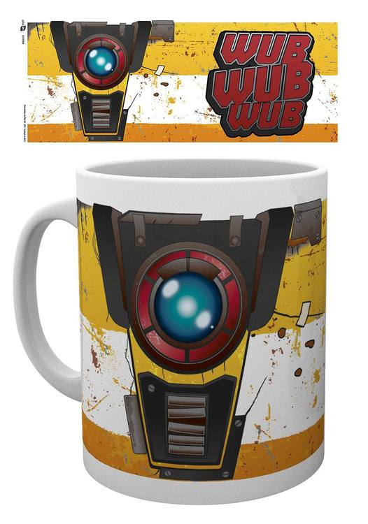 Borderlands 3 mugg - Claptrap
