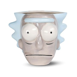 Rick & Morty 3D mugg - Rick