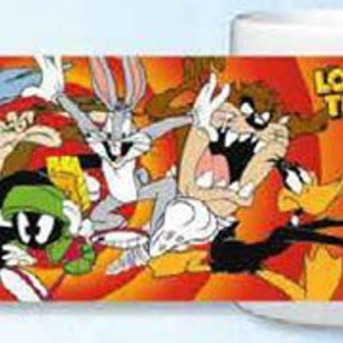 Looney Tunes mugg - All Looneys