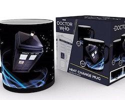 Doctor Who mugg – Thermo