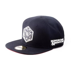 Dungeons and Dragons keps - Tärning  *** Snapback ***