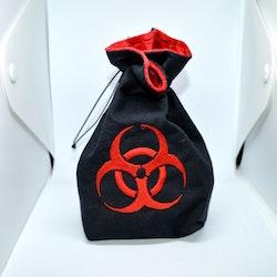 Broderad tärningspåse - Biohazard