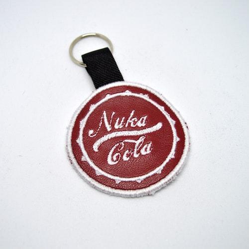 Broderad nyckelring - Fallout - Nuka Cola
