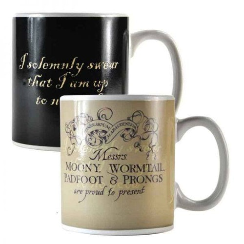 Harry Potter mugg – Thermo - Marauders Map