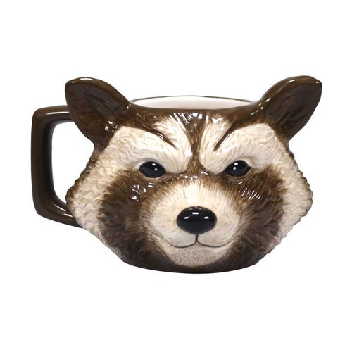 Marvel - Guardians of the Galaxy - 3D mugg - Rocket Racoon
