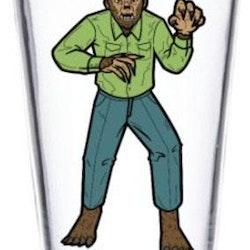 Classic Monsters Dricksglas - Wolf Man