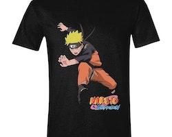 Naruto t-shirt - Naruto jumping