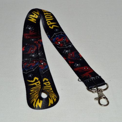 Nyckelband - Spiderman - Marvel
