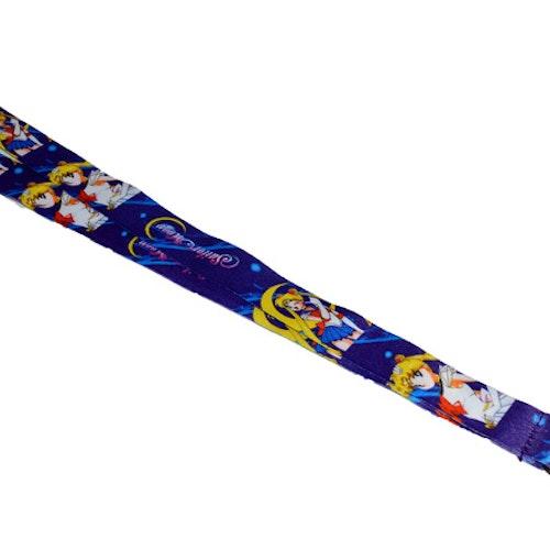 Nyckelband - Sailor Moon - blå
