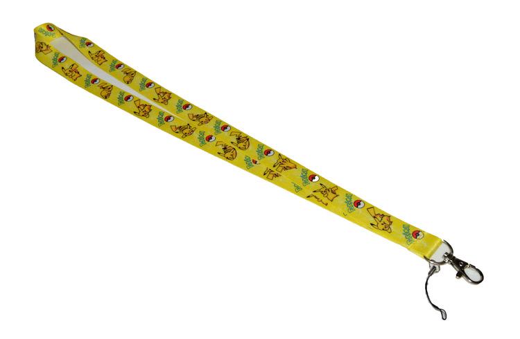 Nyckelband - Pokemon - gul