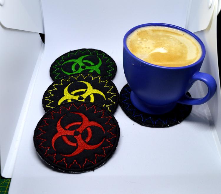 Biohazard - Toxic logo glasunderlägg