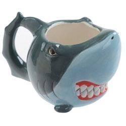 Shark 3D mugg