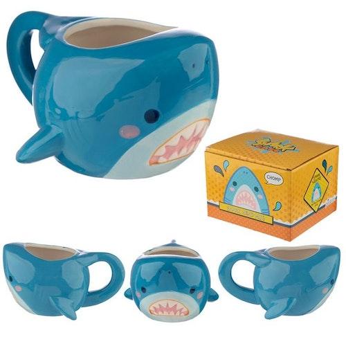 Cutiemals 3D mugg - Haj