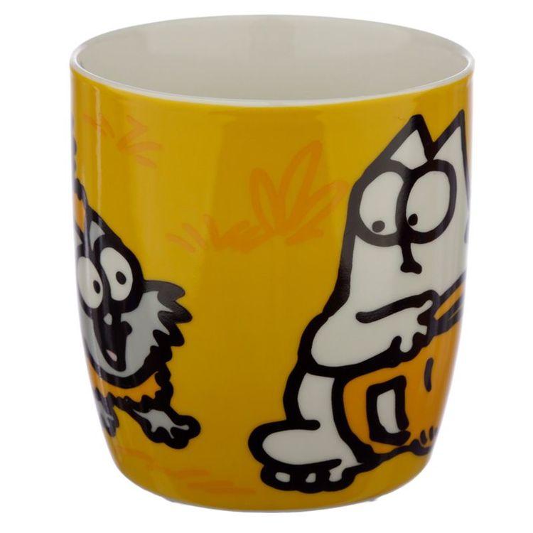 Simons Cat mugg - Röd
