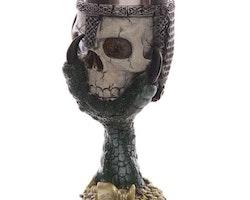 Bägare - Skeletthuvud - Grön