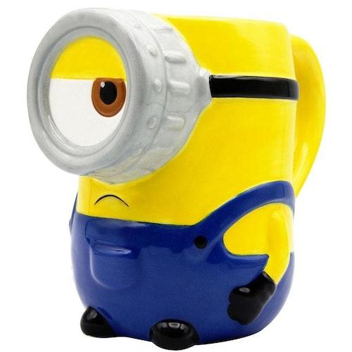 Minions 3D mugg - Stuart