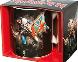 Iron Maiden mugg - The Trooper