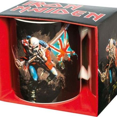 Iron Maiden mugg - The Trooper