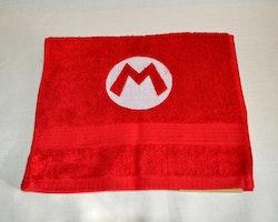 Gästhandduk - Super Mario logo