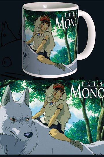 Studio Ghibli mugg - Princess Mononoke
