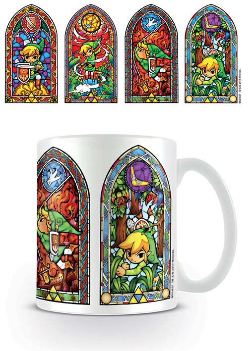 Zelda mugg - Stained glass