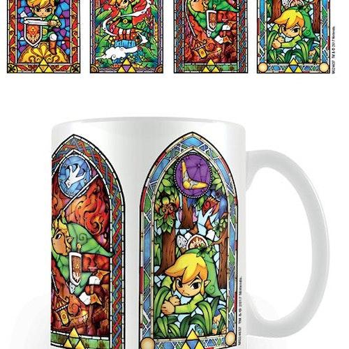 Zelda mugg - Stained glass