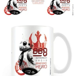 Star Wars mugg - BB8
