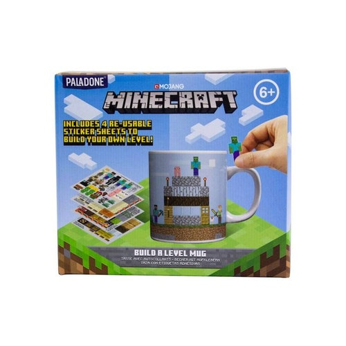 Minecraft mugg - Build a level
