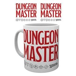 Dungeons and Dragons mugg - Dungeon Master