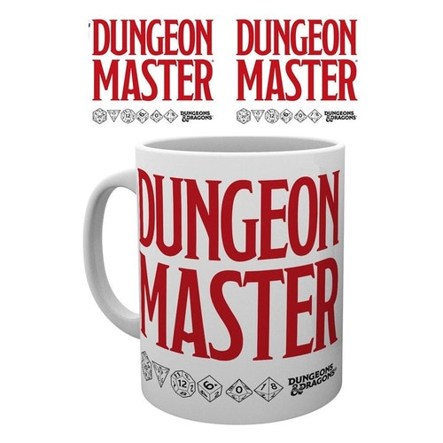 Dungeons and Dragons mugg - Dungeon Master