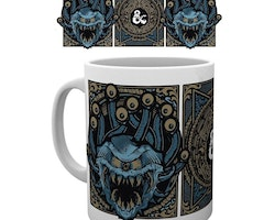 Dungeons and Dragons mugg - Beholder