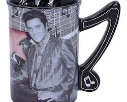 Elvis Prestley mugg
