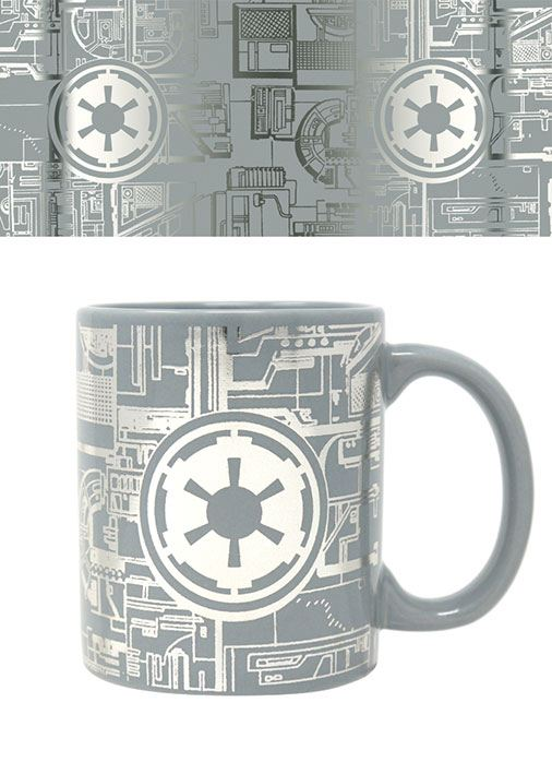 Star Wars mugg - Death Star foil