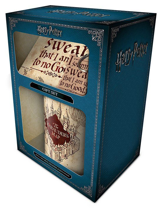 Harry Potter giftset - Maruaders Map