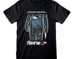 Friday 13th t-shirt - Movie Poster