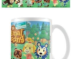 Animal Crossing mugg - Lineup