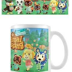 Animal Crossing mugg - Lineup