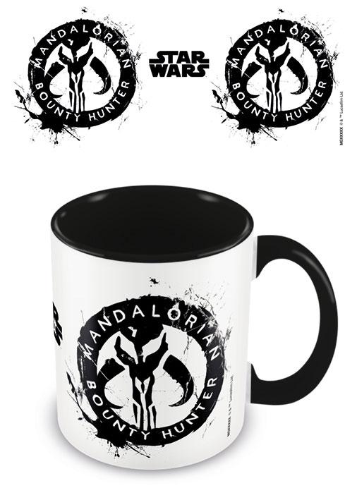 Mandalorian mugg - Bounty Hunter logo