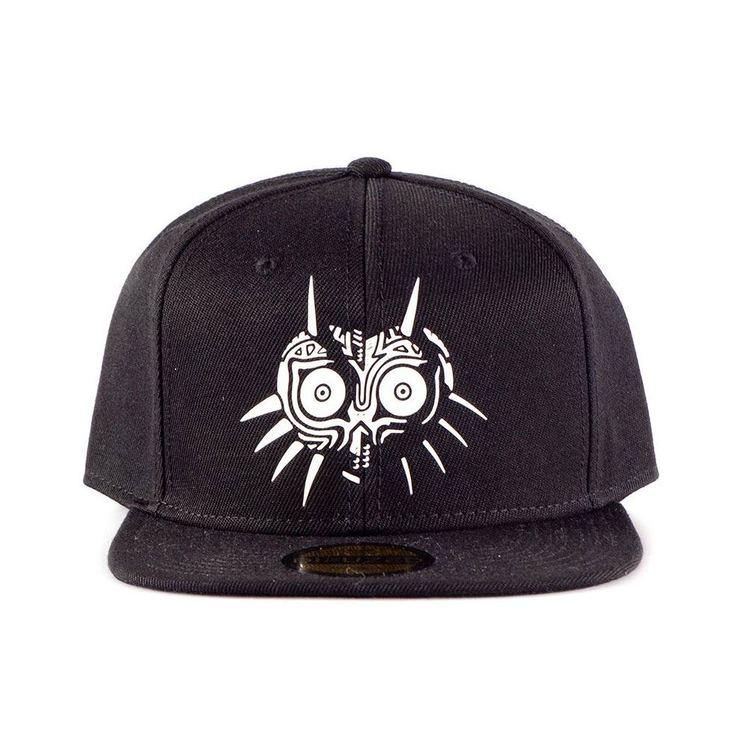 Zelda keps - Majoras Mask - svart  *** Snapback ***