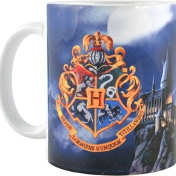 Harry Potter mugg - Hogwarts castle