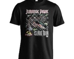 Jurassic Park t-shirt - Island Tour