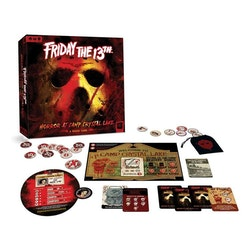 Friday the 13th Board Game - Horror at Camp Crystal Lake