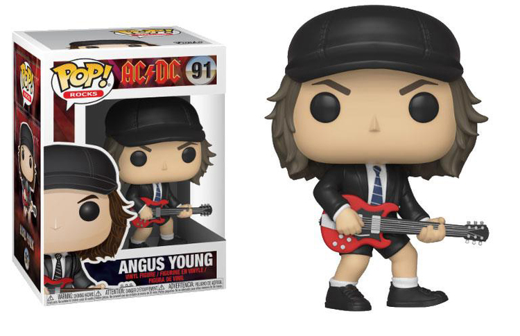 AC/DC POP! Figur - Angus Young