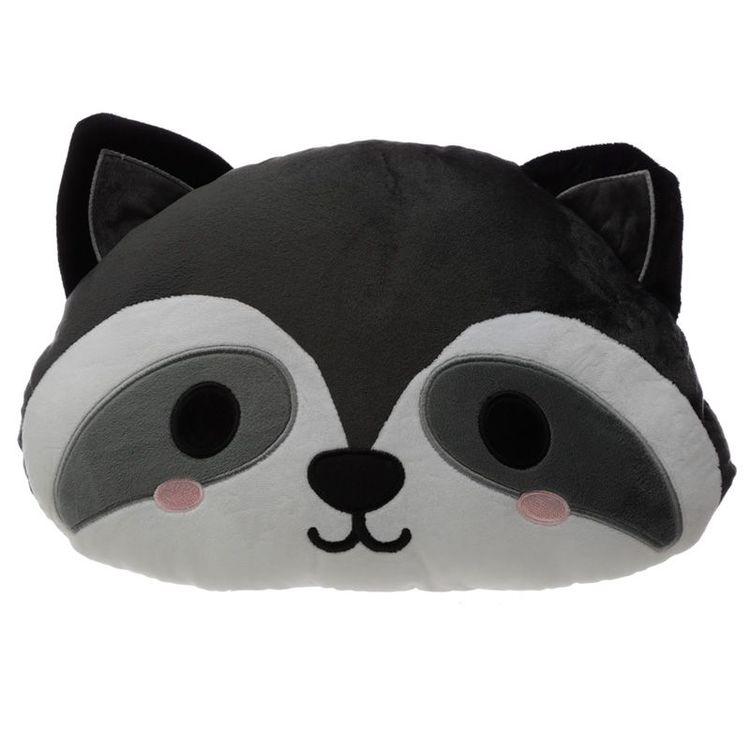 3D kudde - Tvättbjörn - Cutiemals