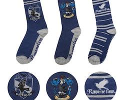 Harry Potter strumpor - 3-pack - Ravenclaw
