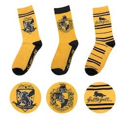 Harry Potter strumpor - 3-pack - Hufflepuff