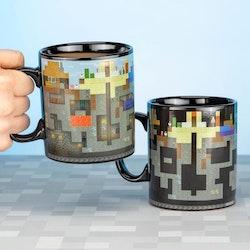 Minecraft mugg – Heat Change