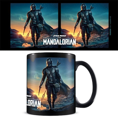 Star Wars Mandalorian mugg - Nightfall